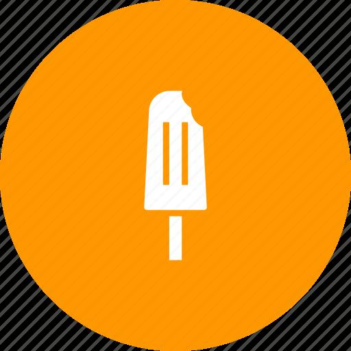 cold, cream, dessert, ice, stick, sweet, treat icon