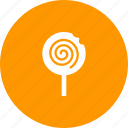 candy, confectionery, dessert, lollipop, lollypop, sugar icon