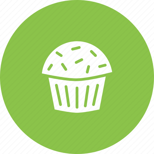 cake, confectionery, dessert, muffin, sugar, sweet, treat icon