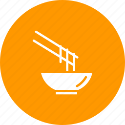 bowl, chinese, eat, food, japanese, noodles icon