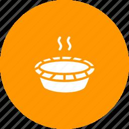 bake, cranberry, dessert, pie, sweet, thanksgiving icon