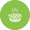 bake, cake, christmas, dessert, pie, sweet, thanksgiving icon