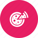 cheese, food, italian, junk, pizza icon