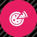 cheese, food, italian, junk, pizza icon