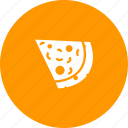cheese, food, italian, junk, pie, pizza, slice icon