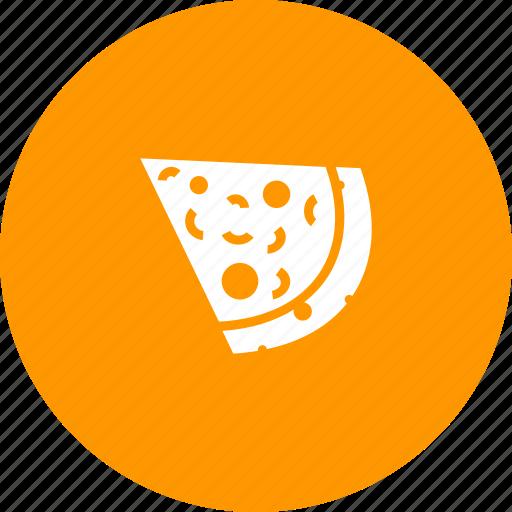 cheese, food, italian, junk, pie, pizza, slice icon