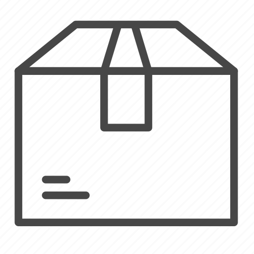 box, carton, delivery, logistics, package icon