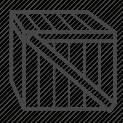 box, carton, delivery, logistics, service icon