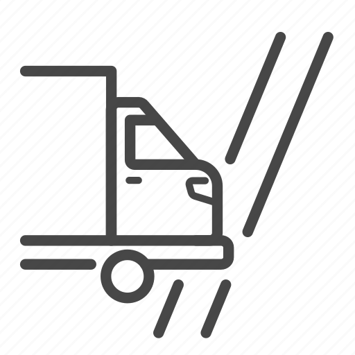 cross border, delivery, logistics, service, shipping, truck icon