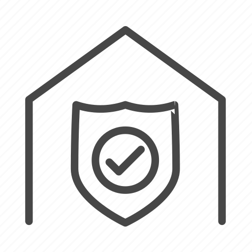 logistics, secure, service, storehouse, warehouse icon