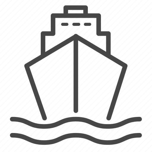 delivery, logistics, ship, shipping, transport icon