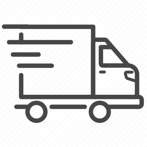 delivery, logistics, shipping, transport, truck icon