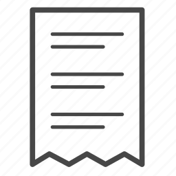 bill, delivery, list, logistics, order, shipping icon
