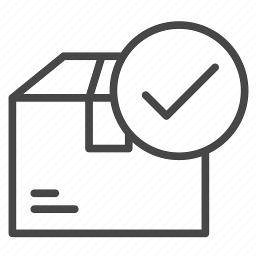 box, delivered, delivery, package, parcel, shipping icon