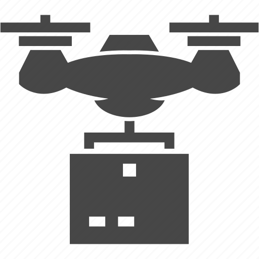 delivery, drone, shipping, technology icon