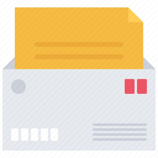 courier, delivery, envelope, letter, parcel, warehouse icon