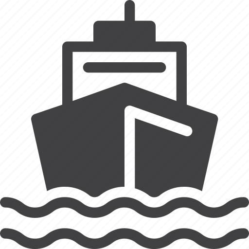 boat, ship, ship by sea icon