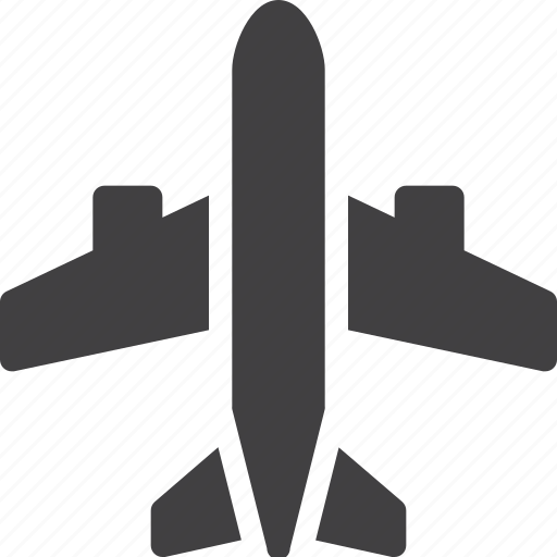 aircraft, airplane, airport, plane icon
