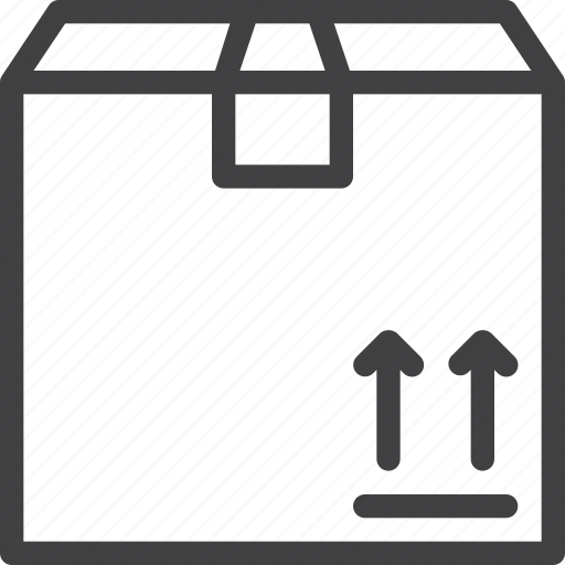 box, cardboard, cargo, delivery, package icon