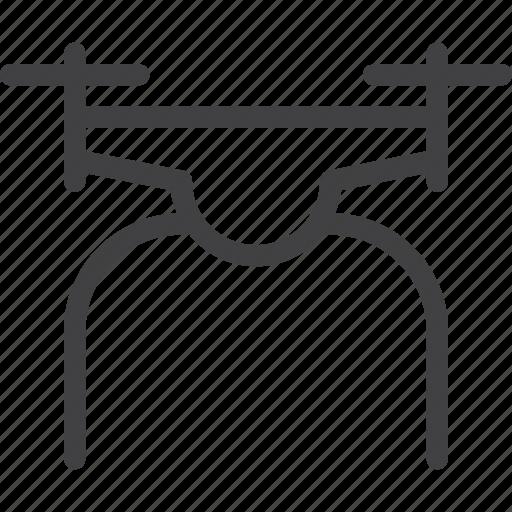 drone, quadcopter icon