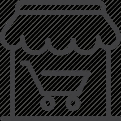 market, reyail, shop, store icon