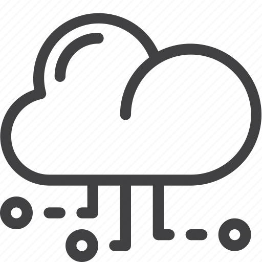 cloud, connections, data, storage, transfer icon
