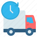 24 hours, cargo, deliver, delivery, shipping, time, truck