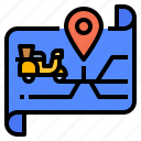application, delivery, gps, laundry, map
