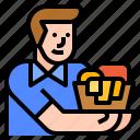 avatar, laundry, service, staff, washing