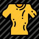 cloth, shirt, shrink, temperature, wearing