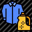bottle, laundry, liquid, softener, washing
