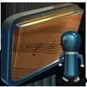 shared, folder, my, music