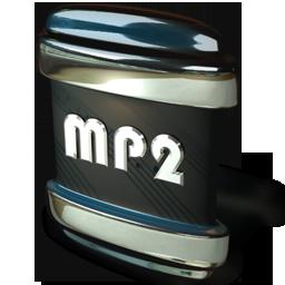 file, mp2 icon