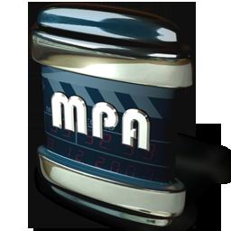 file, mpa icon