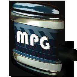 file, mpg icon