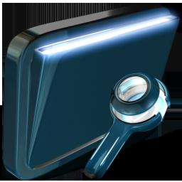 folder, searches icon