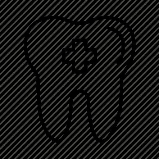 dental, dentist, healthcare, hygiene, medical, tooth icon