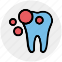 bleaching, damage teeth, dental pain, hygiene, infected teeth, molar, stomatology icon