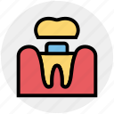 dental, dentist, medical, stomatology, teeth, treatment icon