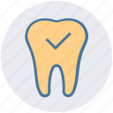 checkup, dental, dentist, healthcare, stomatology, teeth icon