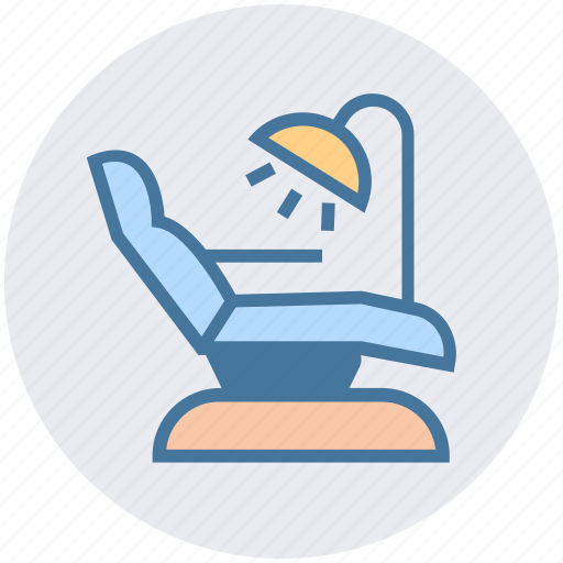 checkup, clinic chair, dental, dentistry, health care, medication icon