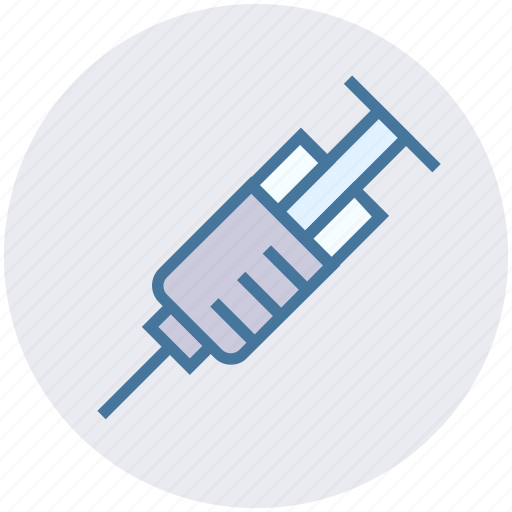 dental, healthcare, hypodermic, injection, syringe, vaccination icon