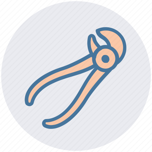 dentist, dentist pincers, dentist tool, hospital, mouth pliers, pliers icon