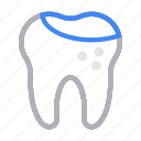 damageteeth, dental, healthcare, oral, tooth icon