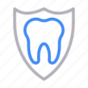 dental, protection, shield, teeth, tooth icon
