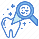 checkup, dental, healthcare, tooth icon