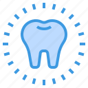 dental, dentist, medical, tooth, whitening icon