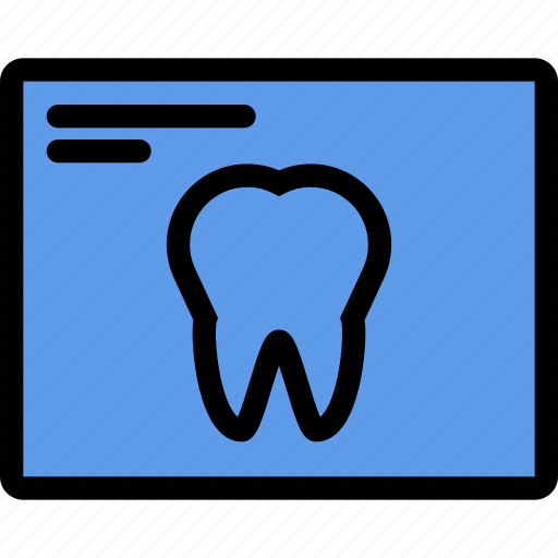 dentist, doctor, hospital, teeth, treatment, x-ray icon
