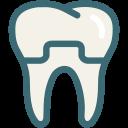 dental, dental crown, dentist, dentistry, teeth, tooth, dental treatment icon