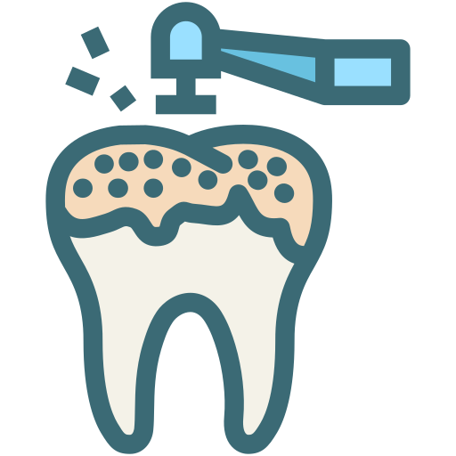 decayed tooth, dental, dentist, dentistry, oral hygiene, teeth cleaning, tooth icon
